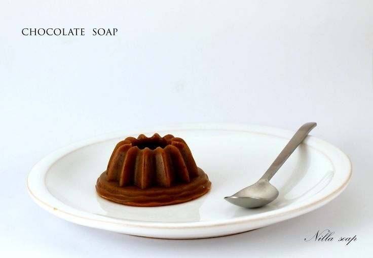This little tart was beautiful extra-nourishing soap made with the real 60% chocolate.
