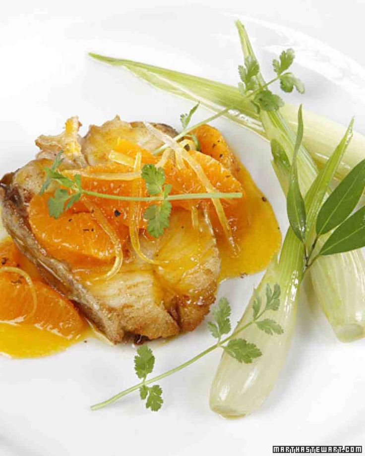 Halibut with Citrus and Cilantro This delicious recipe for halibut with citrus and cilantro comes from chef Marco Pierre White.
