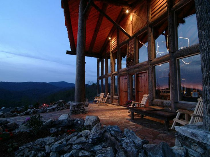 Ski and enjoy the views from wolf ridge ski resort for Places to stay in asheville nc cabins