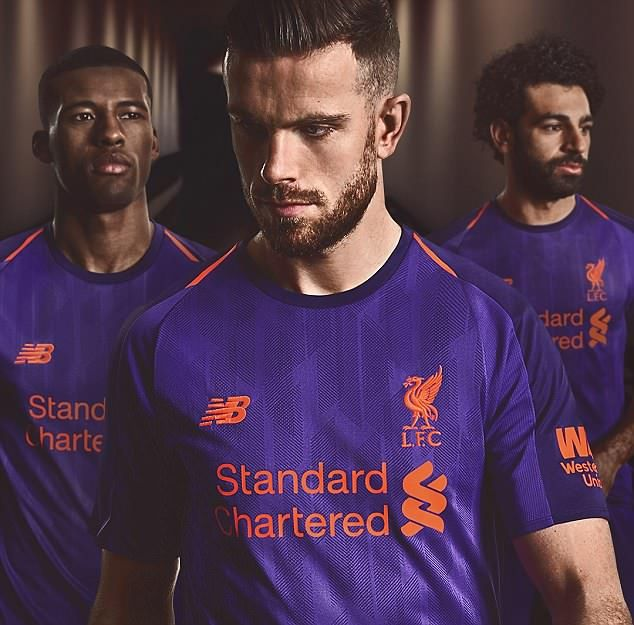 quality design 29b91 c4643 Liverpool release new 'deep violet' away kit for 2018-19 ...