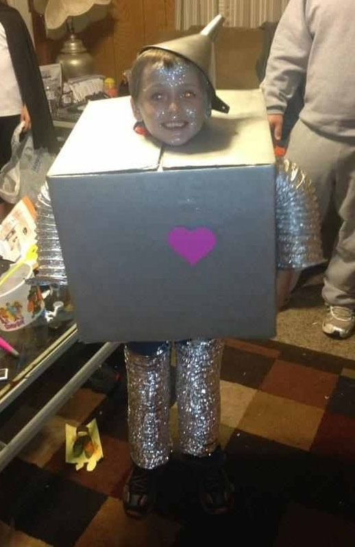Kids Diy Tin Man Costume My Style Pinterest Kid