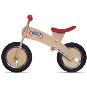 I'm hoping she masters bike riding faster than I did as a kid. I was attached to my training wheels for way too long!