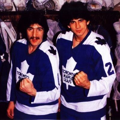 Bill Derlago and Rick Vaive