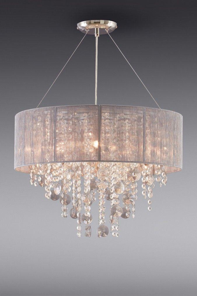 Next Palazzo 3 Light Chandelier Grey Chandelier Lighting Bedroom Light Fixtures