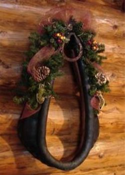 Horse Harness Wreath