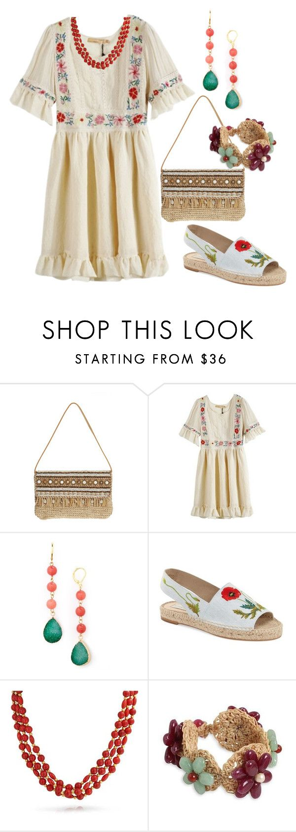 """НС - Сельский стиль 2"" by look-comskaya ❤ liked on Polyvore featuring Skemo, Panacea, STELLA McCARTNEY, Bling Jewelry, NOVICA, women's clothing, women, female, woman and misses"
