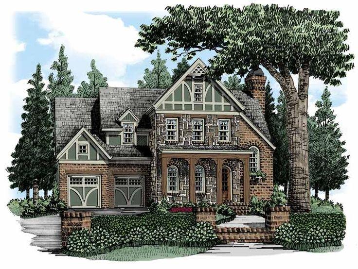 Eplans cottage house plan four bedroom cottage 3204 for Eplans cottage house plan