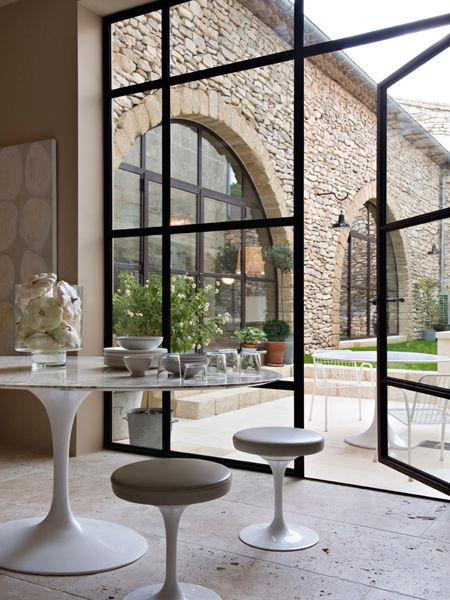 Side return extension / steel glass windows