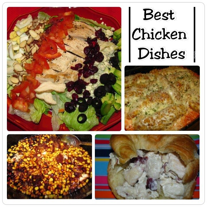 Best Chicken Dishes with Foodie.com -a collection of family favorite meals...with a twist!