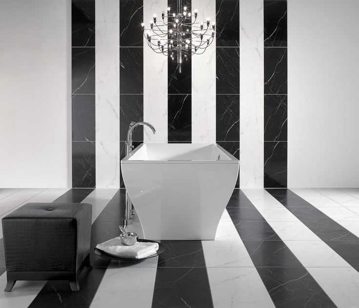 Inspired by #exclusive #bathroom #design.Check #BathroomInspirator, learn more: http://ow.ly/PjX6q  #blackandwhite