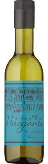 Chenin Blanc White Mini Bottle 187ml: A Day at The Vineyard – Rich tropical aromas of pear and ripe stone fruits.
