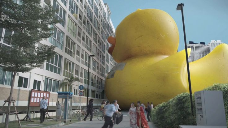 OASIS - Rubberduckzilla. My version of Godzilla.  Director: Joseph Kahn DP: Christopher Probst VFX: Ingenuity Engine Ad Agency: Mother Londo...