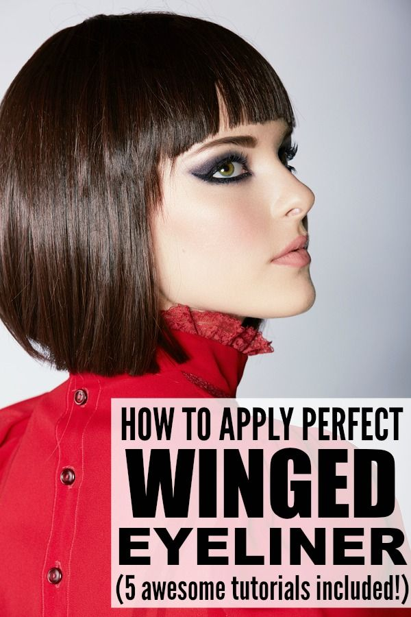 5 TUTORIALS TO TEACH YOU HOW TO APPLY WINGED EYELINER PROPERLY