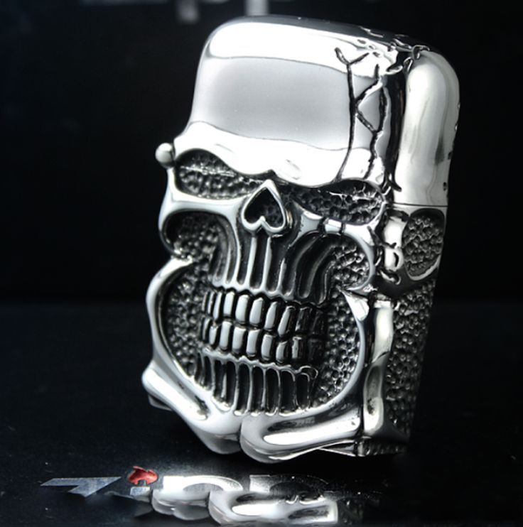 Ghost Rider 925 Silver Lighter