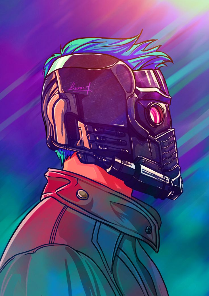 Starlord Illustration, Lucas Mendonça on ArtStation at https://www.artstation.com/artwork/2WyNK