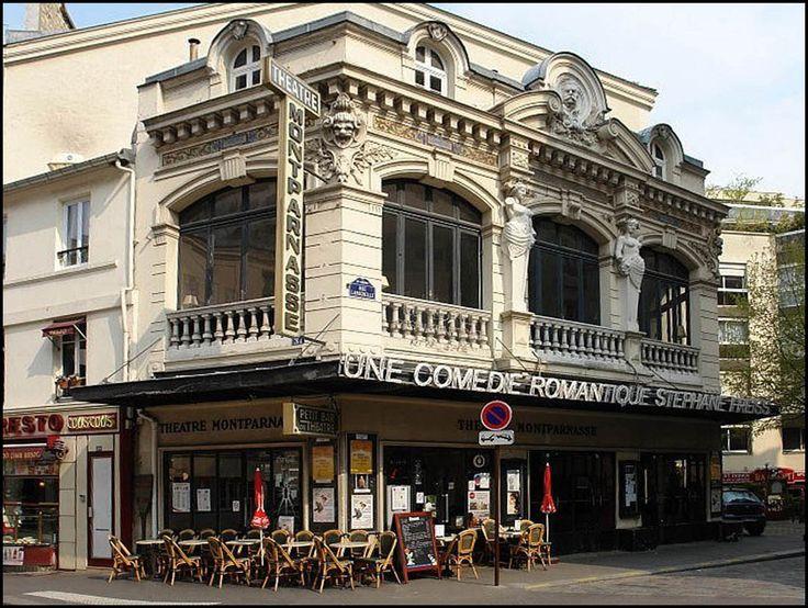 Théatre Montparnasse Gaston Baty, 31 rue de la Gaité, Paris 14e