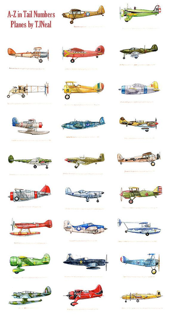 Collection of Twelve 8x10 vintage Airplane prints of your choice