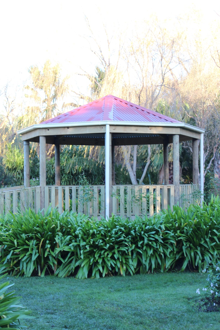 Aarons Outdoor Living have just added a new range. Our Gazebos are a beautiful addition to our shelter options.