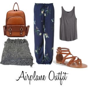 Airplane Outfit... Looks just like pjs but im digging it!