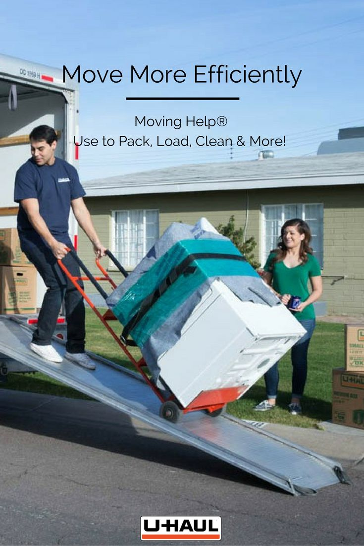 Move more efficiently with Moving Help®. Moving Helpers® can help you take a load of by loading up your truck or trailer while you pack, clean or work on other moving tasks. You can also let take a more hands off approach and let Moving Helpers® do all the packing, cleaning and everything else for you while you work on personal errands or relax! I Planning for a Move