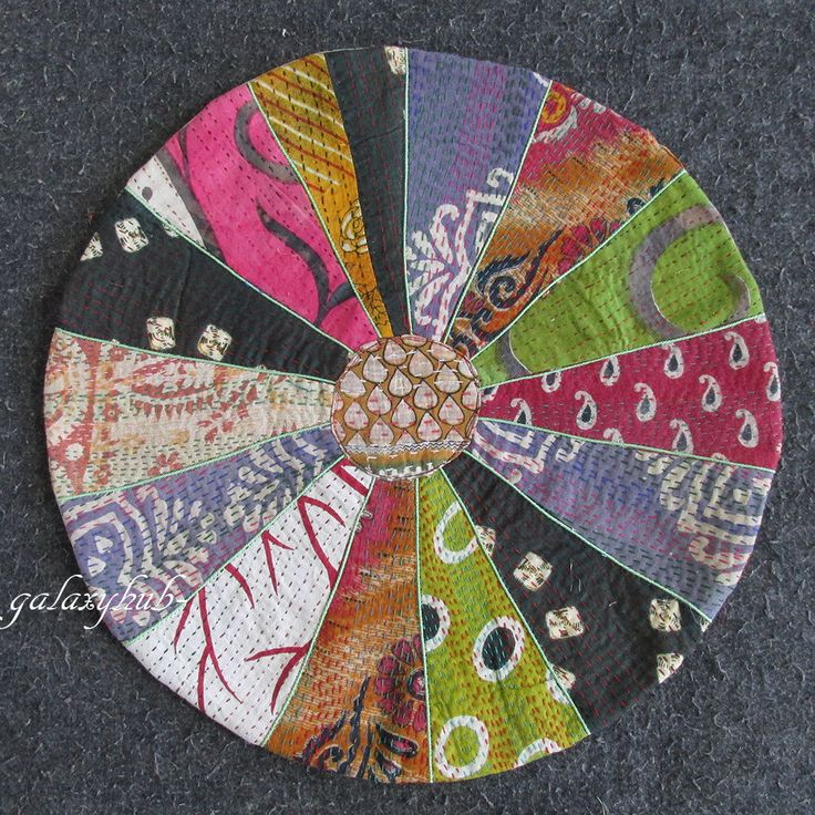 97 best Kantha Round Floor Pillow images on Pinterest Pillowcases, Floor cushions and Floor ...