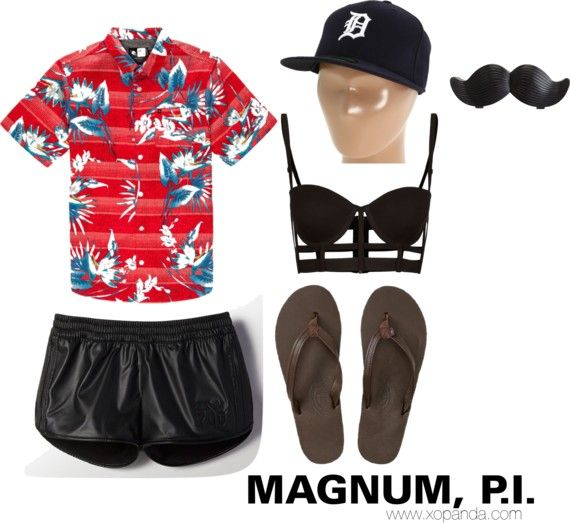 Tom Selleck Magnum Pi Halloween - 44.2KB