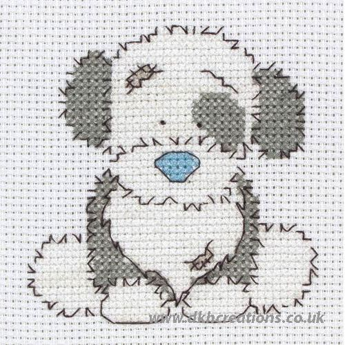 Tatty Teddy My Blue Nose Friends Fluffy Cross Stitch Kit
