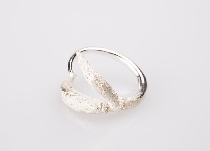 BEECH Ring I. Handcrafted in sterling silver. Available on 1618.design