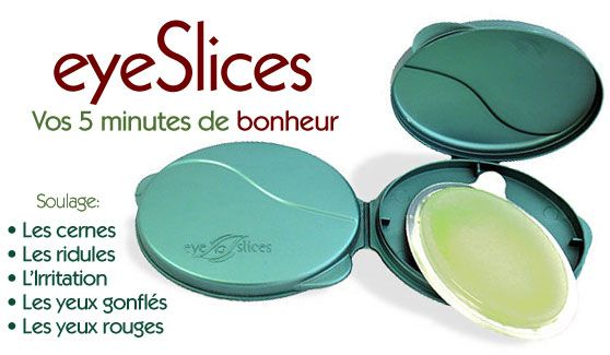Eyeslices meilleur Patch anti-cernes anti poches du contour des yeux, islices exclusif en France Patchboutique by Estetic Online
