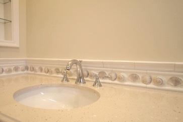 Seashell Bathroom Decor   Bathroom sea shell decor Design Ideas, Pictures, Remodel and Decor