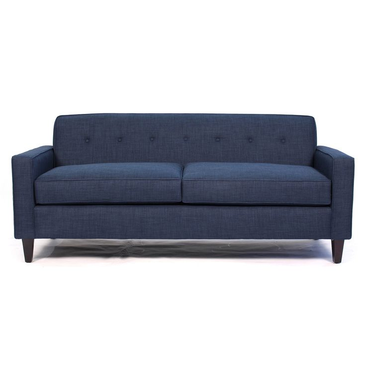 The Soho Mid Century Modern Apt Size Sofa is sleek, neat and loaded with style. Insert some attractive and interesting people and it's kind of like Soho NYC! Wi