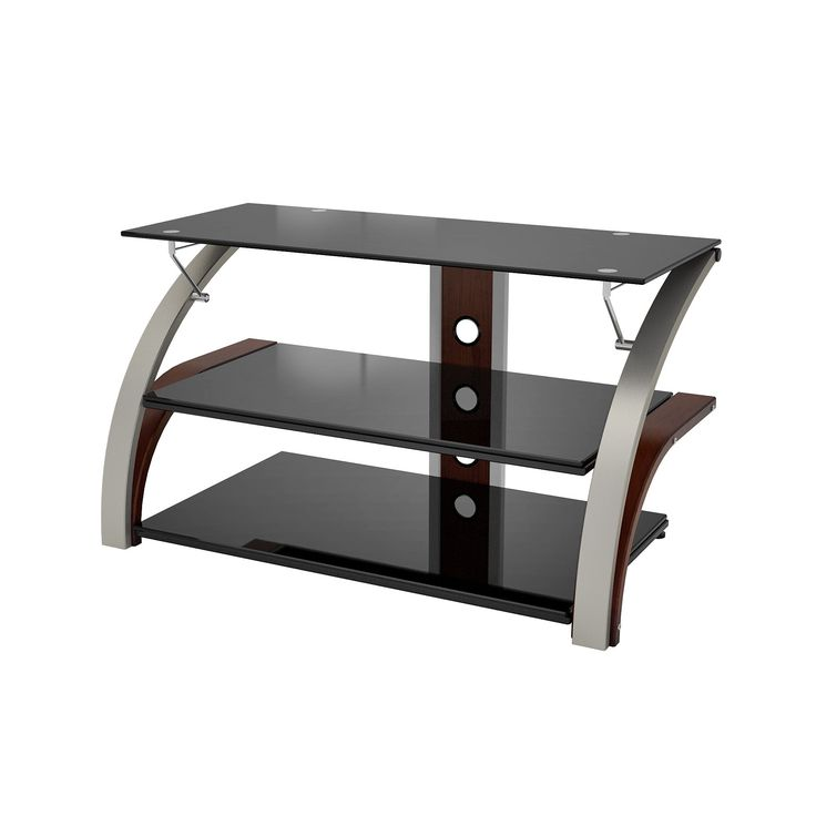 Elecktra Champagne 40-inch TV Stand (Elecktra 40 W TV Stand), Brown