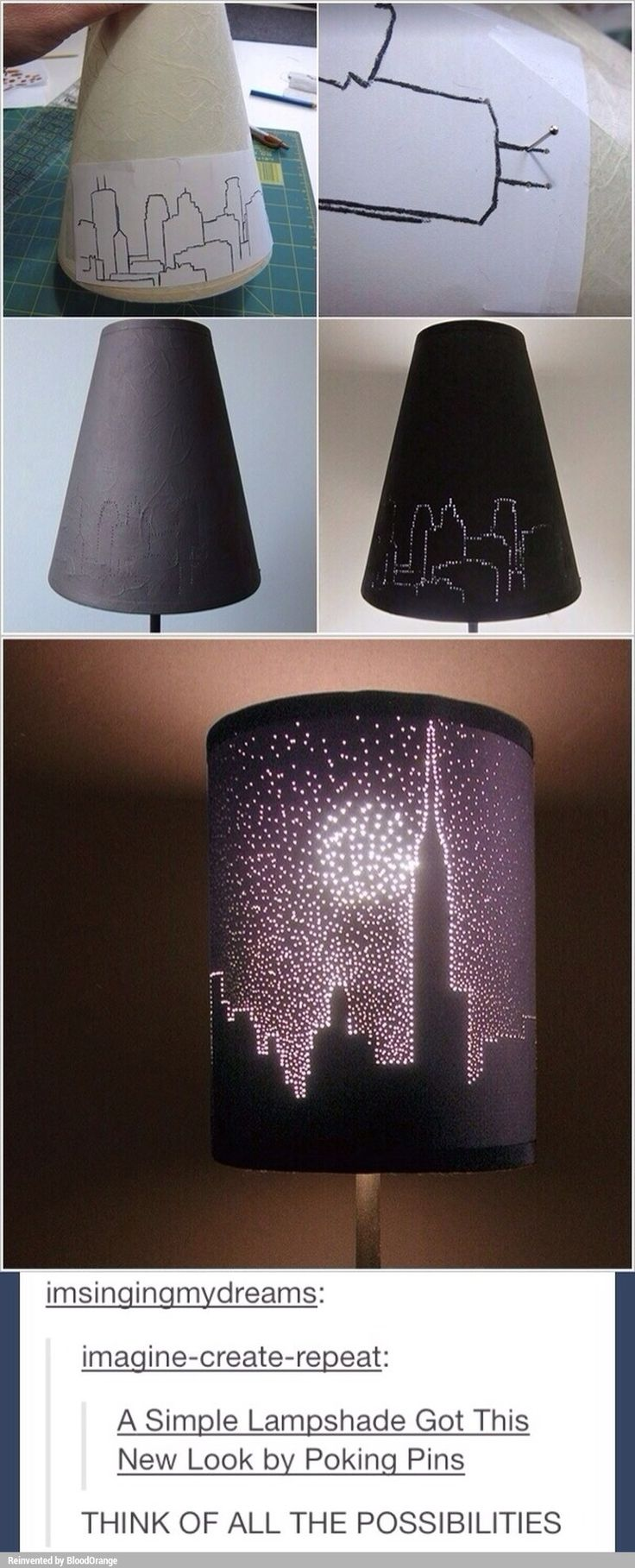 Lampshade decor