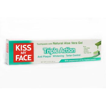 Acne Safe Kiss My Face Triple Action Toothpaste $5.95