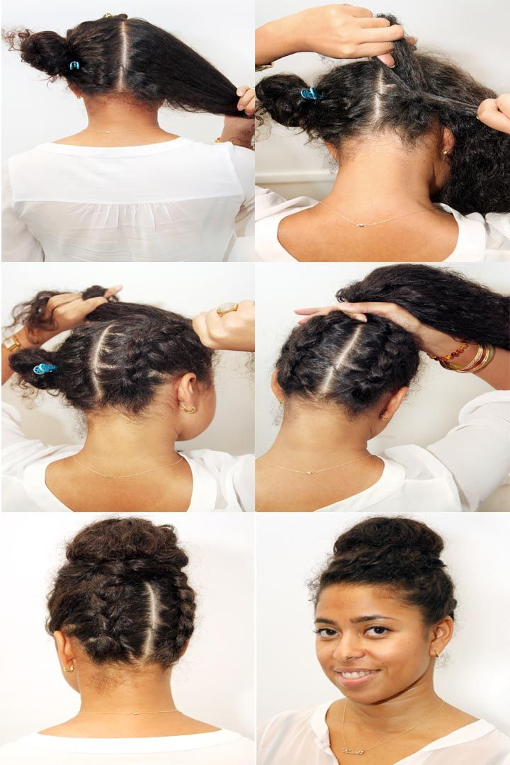 Chignon Headband Natural Hair