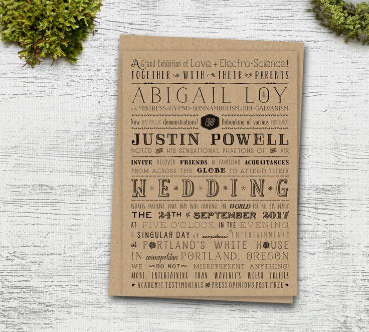 92 best invites images on Pinterest | Wedding stationery, Bridal ...