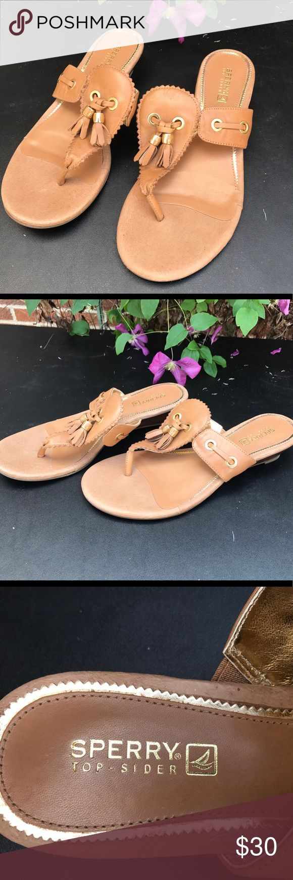 Sherry Top Sider sandals size 7.5 Super cute brown Sperry sandals Womens size 7.5 great condition non smoking home Sperry Top-Sider Shoes Sandals