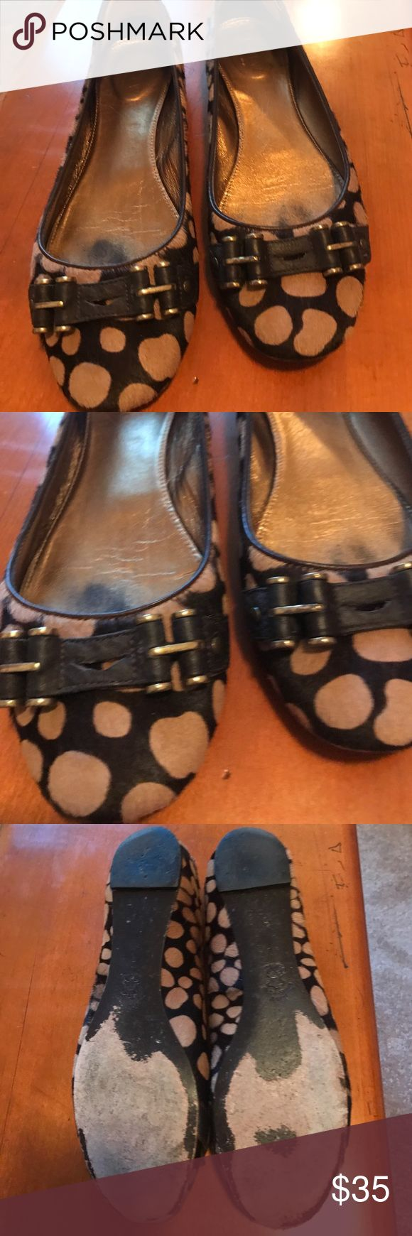JCrew leopard ballet flat Leopard calf hair ballet flat JCrew Shoes Flats & Loafers