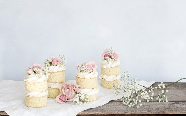 Små fantastiske bryllupskager - Copenhagen Cakes