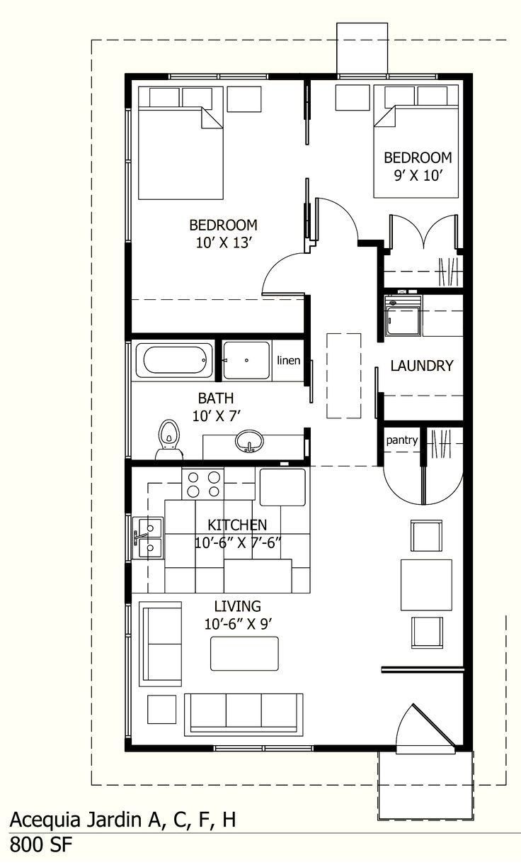 20 X 36 House Plans 2017 And Home Design Ideas No 6404 Showy Small House Layout Small House Plans House Floor Plans