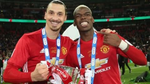 Zlatan Ibrahimovic and Paul Pogba will return to the Manchester United squad for Saturday's Premier League game against Newcastle at Old Trafford.  Striker Ibrahimovic, 36, is yet to play this season after suffering a cruciate knee ligament injury in April.  Midfielder Pogba, 24, has not played since injuring a hamstring against Basel in September.
