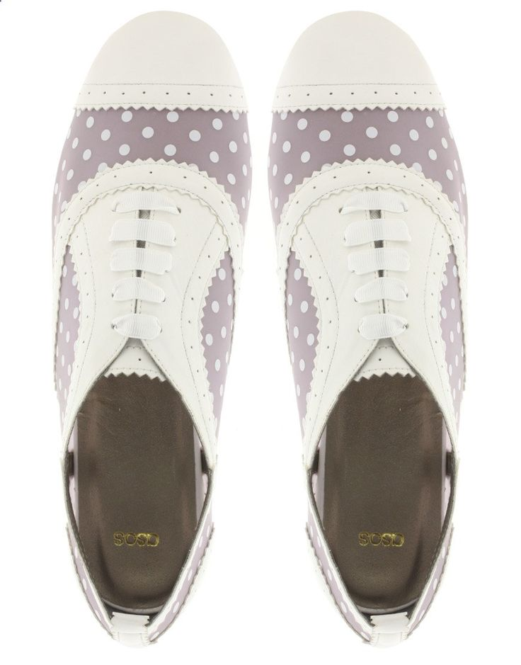 Cute Polka Dot Womens Golf Shoes!