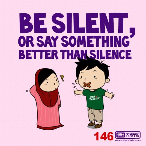 "[CheUn] 146: Ahmad says ""Be silent, or say something better than silence"" Get 5% DISCOUNT of any items on deenify.com when you share/reblog/retweet this post. Obtain your coupon by submitting your details here : http://bit.ly/coupon-redeem"
