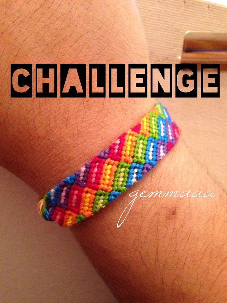 women trainers size 9 Rainbow block friendship bracelet pattern number  10902   For more patterns and tutorials visit our web or the app