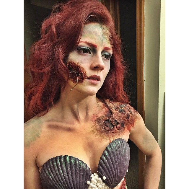 Instagram media by iwantimake - Hooked and rotting Mermaid. 100% homemade costume, from head to toe (full length pictures to follow). #iwantimake #blogger
