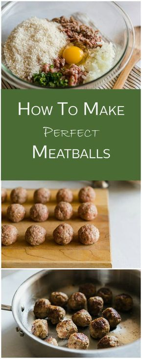 This is the best meatball recipe. Follow the easy steps and you'll be making perfect meatballs in no time. via @thecookful