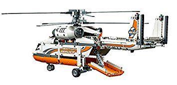 LEGO - 42052 - Technic - L'hélicoptère de Transport: Amazon.fr: Jeux et Jouets