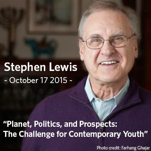 Tickets | Stephen Lewis Public Lecture | Tickets Tonight