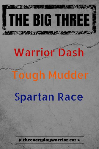 Comparing the big 3: Warrior Dash, Tough Mudder and Spartan Race.