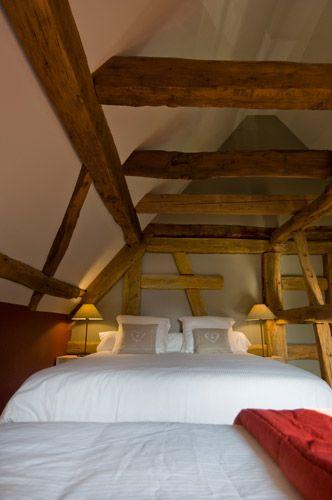 Une maison de charme à louer pour des séjours en Alsace (France): chambre l'Alcôve